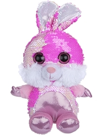 20cm Plush Goshie Sequin Colour Change Bunny