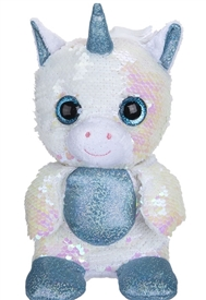 20cm Plush Goshie Sequin Colour Change Unicorn
