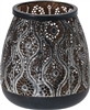 Black Ornate Tealight Holder 14cm