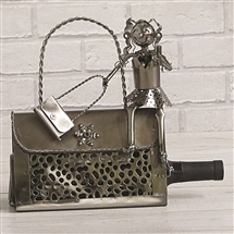 Metal Handbag Bottle Holder