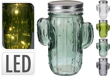 REDUCED Cactus LED Jar 4 Assorted