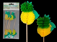 Pack of 8 Pineapple Picks