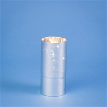 Glass Tube With 5 LED Lights - Silver Stripe