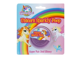 Unicorn Sparkly Poop Tub 7cm