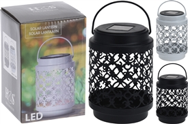 Metal Solar Lantern 2 Assorted