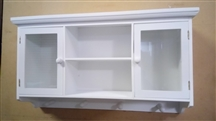 White Wall Cabinet 61cm