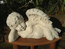 "16"" Cherub Lying Down Figurine 20% OFF"