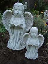 "REDUCED 18"" Kneeling Girl Angel 20% OFF"