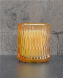 Prosecco Candle In Embossed Glass Jar 9cm