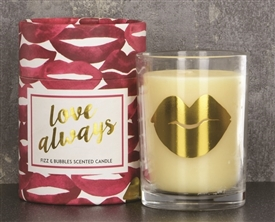Love Always Lips Candle 13cm
