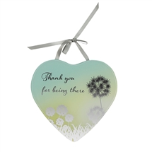 Reflections Of The Heart Mirror Plaque Thank You