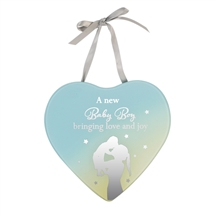 Reflections Of The Heart Mirror Plaque Baby Boy
