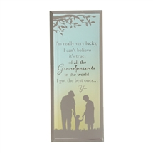 Reflections Of Heart Plaque Grandparents