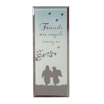 Reflections Of Heart Plaque Friends Angels