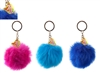 Mermaid  Faux Fur Pom Pom 3 Asst