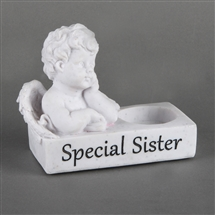 Thoughts Of You Cherub T Light Holder Sister