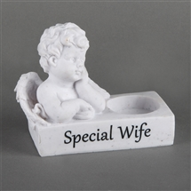 Thoughts Of You Cherub T Light Holder Wife