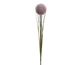 Frosted Allium Single Stem 66cm Lilac