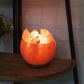 Himalayan Salt Rock Fire Basket