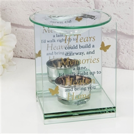 Thoughts Of You Glass Oil Burner Stairway To Heaven