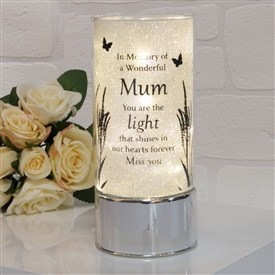 Thoughts Of You Light Tube Mum 20cm