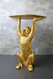 Gold Monkey Table 52cm