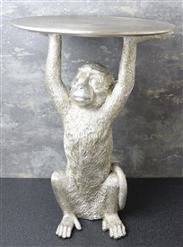 Silver Monkey Table 52cm