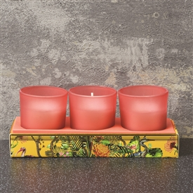 Oriental Lily Set Of 3 Candles