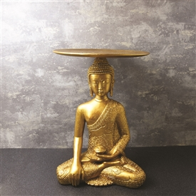 Gold Buddha Antique Table 52cm