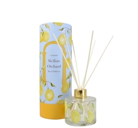 Basil And Wild Lemon Scented Reed Diffuser With Gift Box 150ml