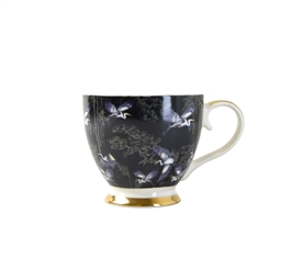 Heron Design Footed Mug With Gift Box 460ml