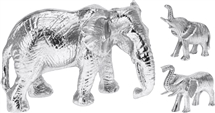 Silver Elephant 2 Assorted 13cm