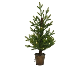 60cm Nordic Fir Tree with LED Lights