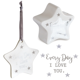 Star Money Box & Plaque Gift Set � Every Day
