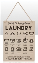 Laundry Guide Sign