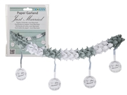 Paper Wedding Garland 2.5m