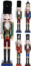 Multicoloured Nutcracker 4 Assorted 55cm