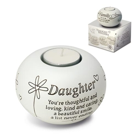 Said With Sentiment Daughter T Light Holder