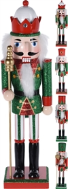 Nutcracker 36cm 4 Assorted