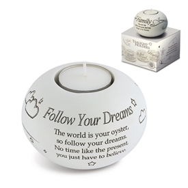Said With Sentiment T Light Holder