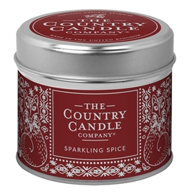 Nordic Charm Candle in Tin - Sparkling Spice