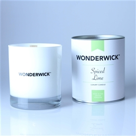 Wonderwick Glass Candle - Spiced Lime