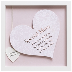 Said With Sentiment Special Mum Heart Frame 27.5cm