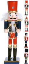 Black And Red Nutcracker 4 Assorted 18cm