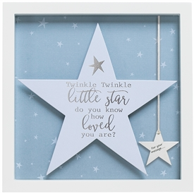 Said With Sentiment Twinkle Twinkle Star Frame 27.5cm
