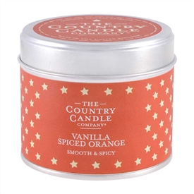Superstars Candle in Tin - Vanilla Spiced Orange
