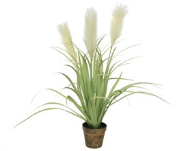 Artificial Grass Pampas Potted Plant- 70cm
