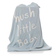 Blue Hush Baby Blanket