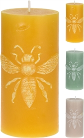 Bee Design Candle 3 Assorted