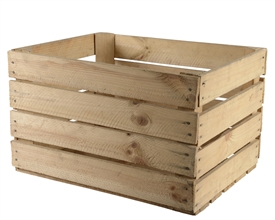Recycled Wooden Apple Crates 50x40x30cm